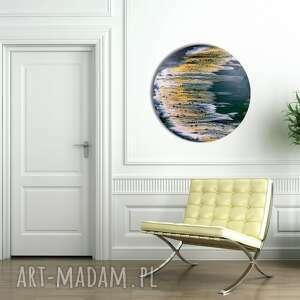 unikalny, moje niebo 2, akryl, abstrakcja, koło, alexandra13art