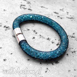 shimmer - lśniąca bransoletka/ lazurowa/stardust, lazurowa, stardust