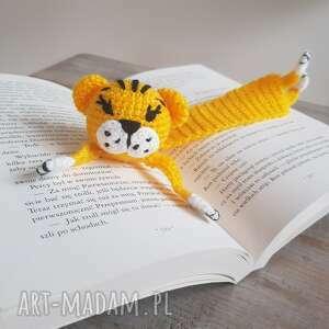 hand made zakładki zakładka do książki tygrys
