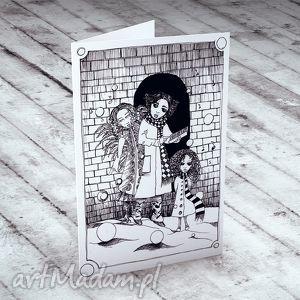 handmade pomysł na prezent święta kolędnicy... karteczka na życzenia
