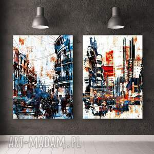 plakaty zestaw plakatów abstrakcje - format 50x70