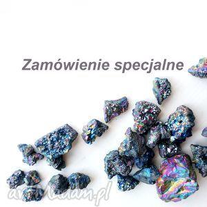 miechunka zamówienie specjalne - wirewrapping, perły, czarne