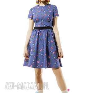 sukienka w motylki amore, sukienka, motylki, wielkolorowa, dziewczęca, kasiamiciak