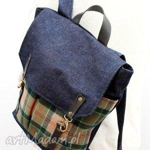 cb6c11d697556 Plecaki oryginalne. Plecak skóra, plecak damski, jeans