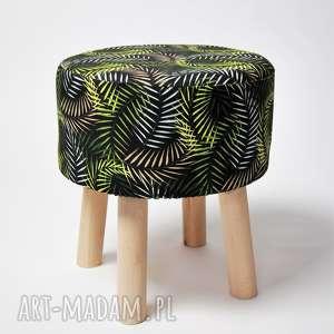 Fjerne S czarne liście, stołek, siedzisko, dom, meble