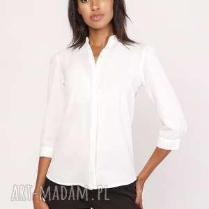 hand-made bluzki lekka koszula o luźnym kroju, k110 ecru