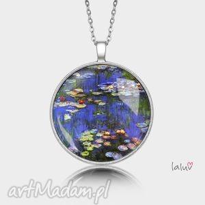 medalion okrągły lilie wodne - monet, reprodukcja, obraz, sztuka, prezent