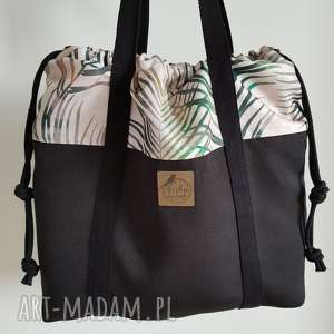 na ramię torba worek - summer vibes, torba, worek, summer, sznurki, bucket, bag