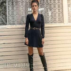 Milita Nikonorov: Mila Mini Black Night - Sukienka mini