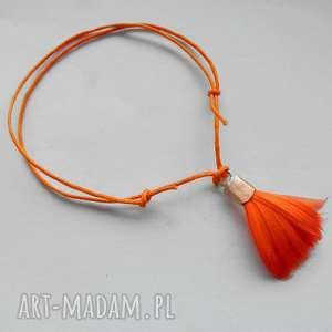 piórko bransoletka, miedż, sznurek, pióra bransoletki, święta prezent