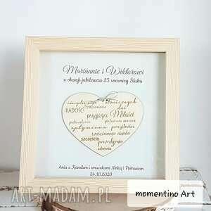 ramki prezent, jubileusz, rocznica, ślub, życzenia z okazji rocznicy ślubu