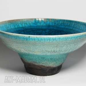 ceramika misa raku turkusowa, misa, raku, ceramika, pod choinkę prezent