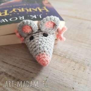 ręczne wykonanie zakładki zakładka do książki szczurek