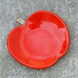 Miseczka jabłko, miseczka, fusetka, owoce, soczyste, błyszczące