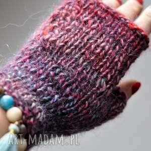 Rękawiczki miyenki the wool art rękawiczki, mitenki, wełniane