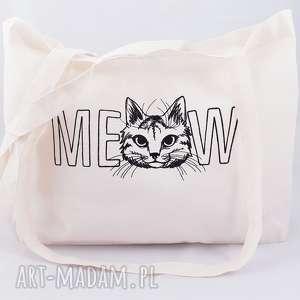 eko torba zakupowa, torba, torebka, siatka, shopperka, kot, pod choinkę