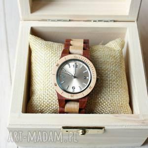 hand made zegarki damski drewniany zegarek seria mini wood