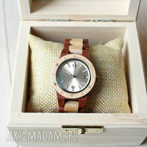 damski drewniany zegarek seria mini wood, zegarek, damski, elegancki