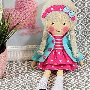 handmade lalki malowana lala melania