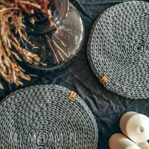 Podkładka na stół ze sznurka dekoracje hygge macrame sznurka