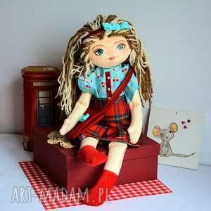 lala ręcznie malowana - basia 50 cm, lalka, zabawka, dziewczynka, dekoracja