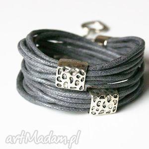 bransoletka sznureczki, bransoletka, jubilerskie, sznurki, owijana