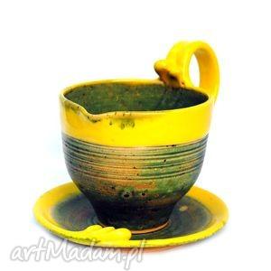 ceramika knyps z czubkiem x2 rezerwacja pani maria doroszuk, użytkowe, unikatowe