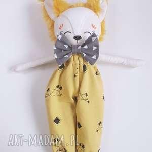 ręcznie zrobione lalki lalka lis leoś
