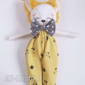 wyjątkowy prezent, lalka lis leoś, lis, las, przytulanka, lisek, fox, eko lalki