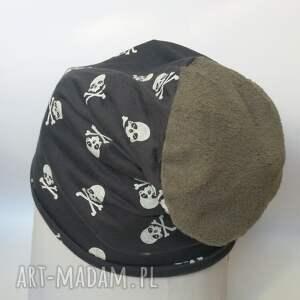 czapka dzianina przejściówka sport czaszki - dzianina, sport, bawełna, joga
