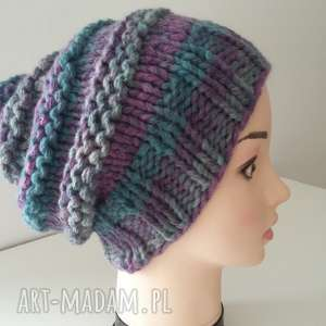 czapki gruba czapka na zimę, czapka, czapa, zima, smerfetka, gruba, kobieta