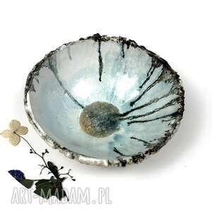 "Ceramiczna miska ""lodowiec"" ceramika ceramystiq studio miska"