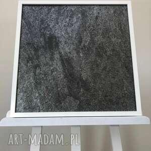 obraz 50x50cm łupek gwieździsta szarość, obraz, dekoracja, panel