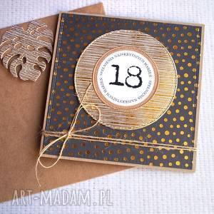 18-te urodziny glam kartka urodzinowa, urodziny, osiemnastka