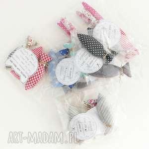 handmade zwierzaki zestaw rybki z kocimiętką