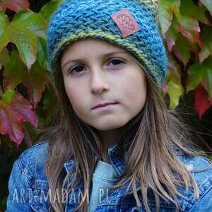 hand-made czapki czapka explorer kids jesienne łąki