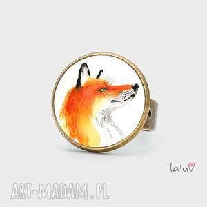 pierścionek lis