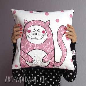 poduszki poduszka z kotełem charliem, jasiek, kot, dekoracyjna, kotek, prezent