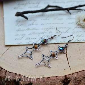 Prezent Spark - długie kolczyki z kryształkami, kolczyki-długie, kolczyki-wiszące