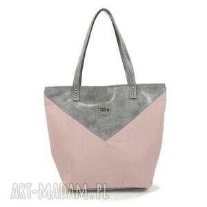 na ramię torba worek triangle 1 , worek, ekoskóra, prezent, manamana torebki