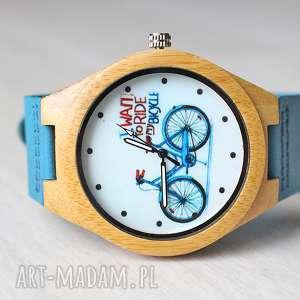 handmade zegarki drewniany zegarek bike watch