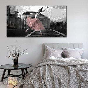 handmade obrazy obraz xxl baletnica 1 -120x70cm obraz na płótnie tancerka
