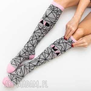 skarpetki sportowe mad socks spider grey, skarpetki, rower, sport, fitness, crossfit