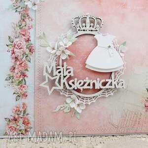 hand-made scrapbooking albumy album mała księżniczka