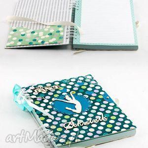 pamiętnik - sekretnik, pamiętnik, prezent, handmade, dziewczynka, taniec
