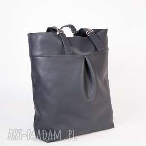 Skórzana torebka shopper na ramię crosna ramię, torebka, skóra