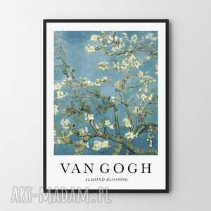 van gogh almond blossom - plakat 40x50 cm, plakat, plakaty, obraz