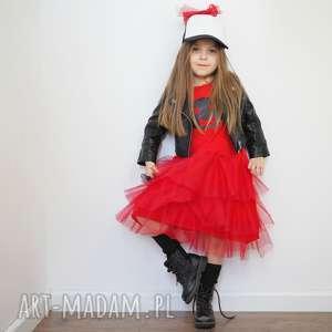 sukeinka red bużka, sukienka, sukienka wizytowa, dla dziewczynki