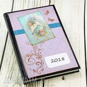 kalendarz książkowy 2018 - wrzosowe wspomnienia, kalendarz, terminarz, ptak,