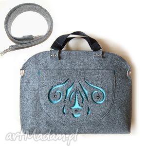 Kuferek ażur part 1 na ramię ruben art modna, torebka, filc